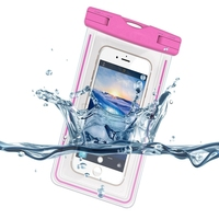 Universal Waterproof Case Cover Underwater Cell Phone Dry Bag for iphone 6 6S 6S Plus for Galaxy S6 S6 Edge for Sony up to 5.3""
