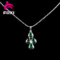 india latest new hot product women wear pendant necklace jewelry gold