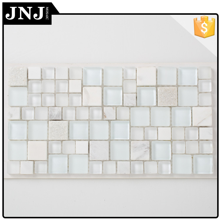 OEM Decoration Arabic Mosaic Tile Molds Glass Mix Marble