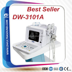 Full Digital Portable ultrasound for pregnancy test with DW3101A 80 elements convex array probe