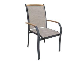 outdoor garden aluminum mesh dining chair view mesh chair chandar