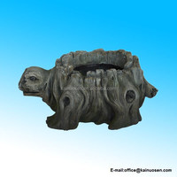 Turtle Planter Quality Hand Cast Resin