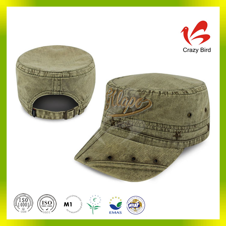 Manufacturer Wholesale Crazy Bird Personalized Ajustable Hat Camouflaged Military Cap