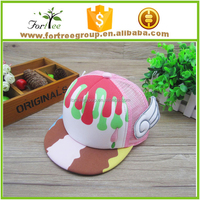 kids baseball cap with angel wings