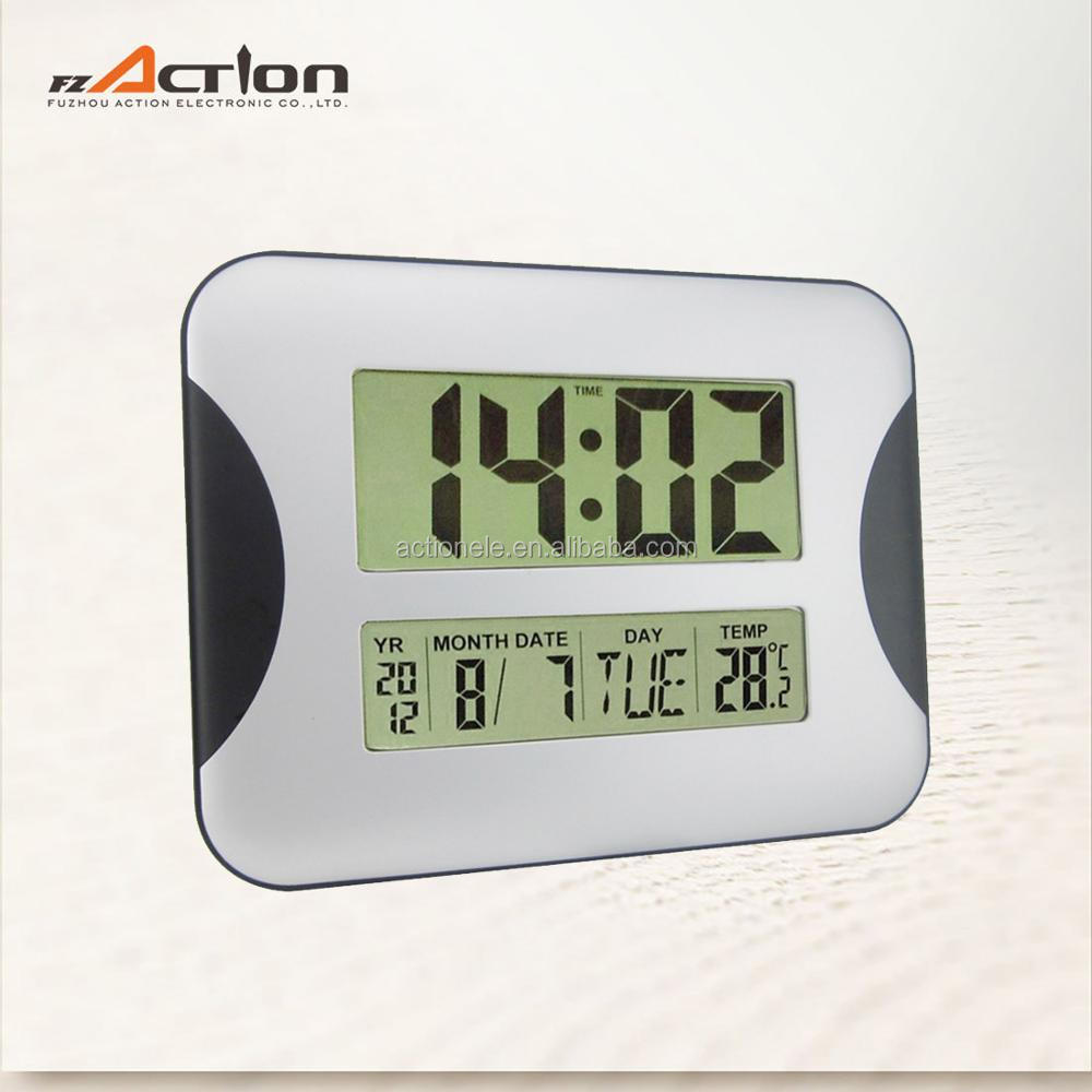 Manufacturer Discount Wall Clock Day And Date atomic wall clock