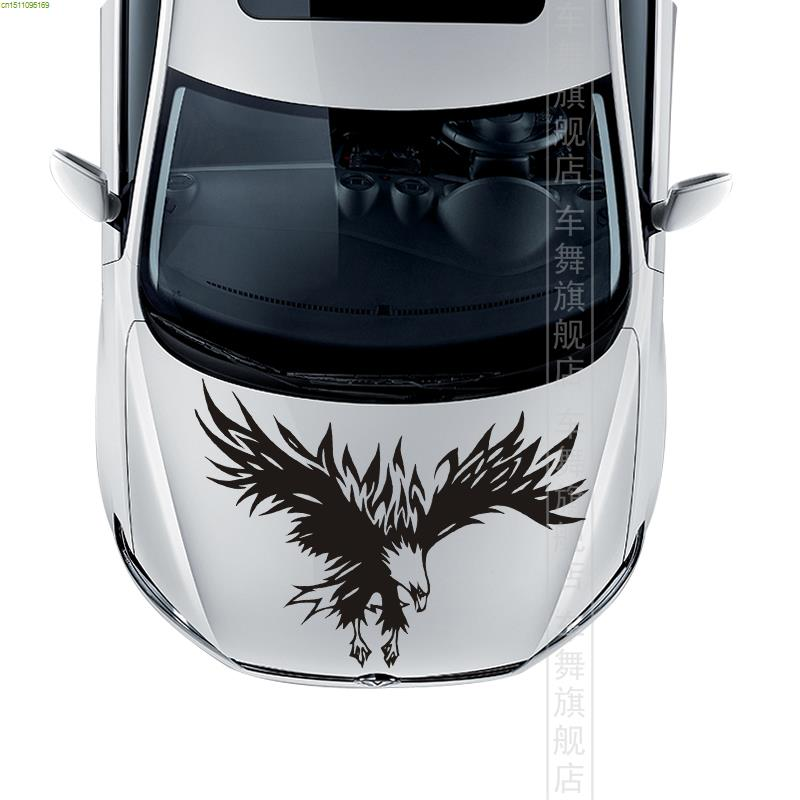Cool car styling eagle totem hood engine cover stickers for VW/FORD.CHVEROLET/NISSAN/CITROEN.HONDA,other color contact