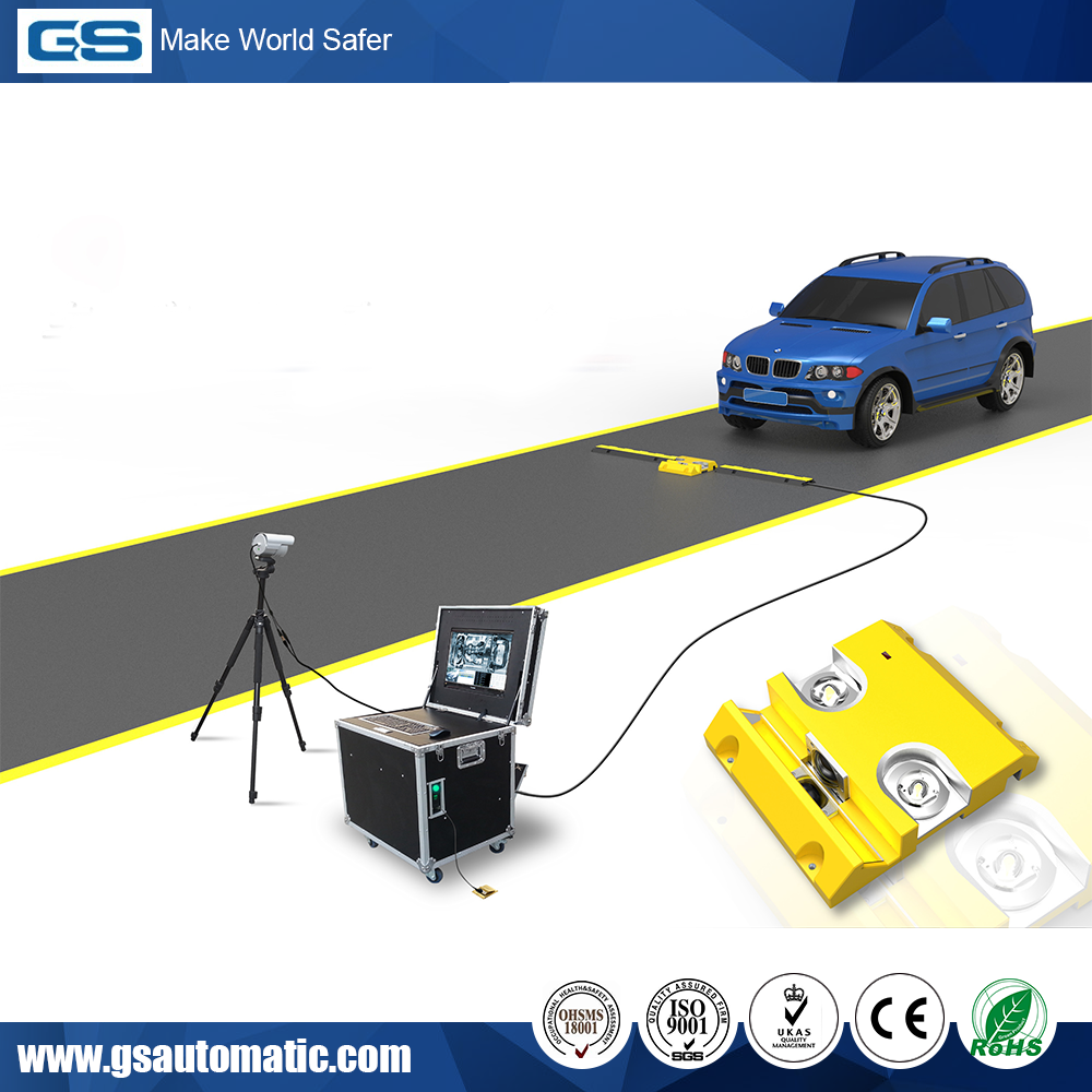Best Price ISO9001 Certificated Portable Under Vehicle Surveillance System
