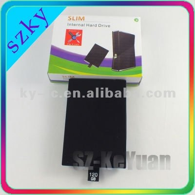 120GB hard disk drive HDD for slim XBOX360 game console