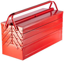 Waterproof portable folding metal tool storage box for sale