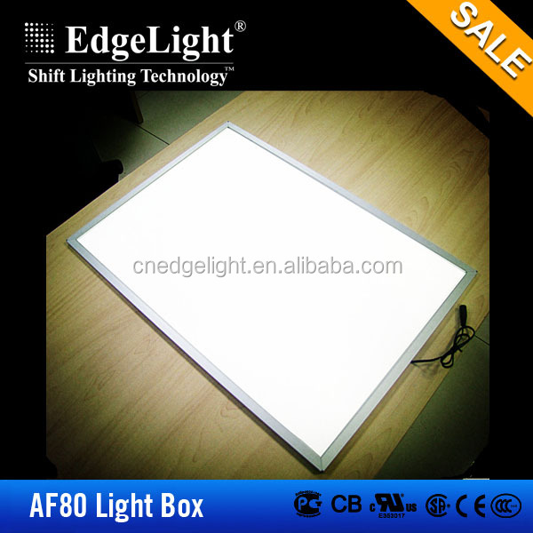 Edgelight hanging led light panel , led aluminum profile acrylic panel lights , 600*600mm CE/ROHS LED light panel