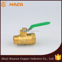 good quality brass Female & Male Threaded Ball Valve made in china
