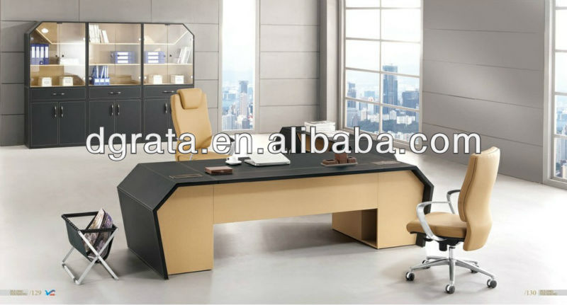 2013 Classic office desk,office furniture,office table was made of melamine board