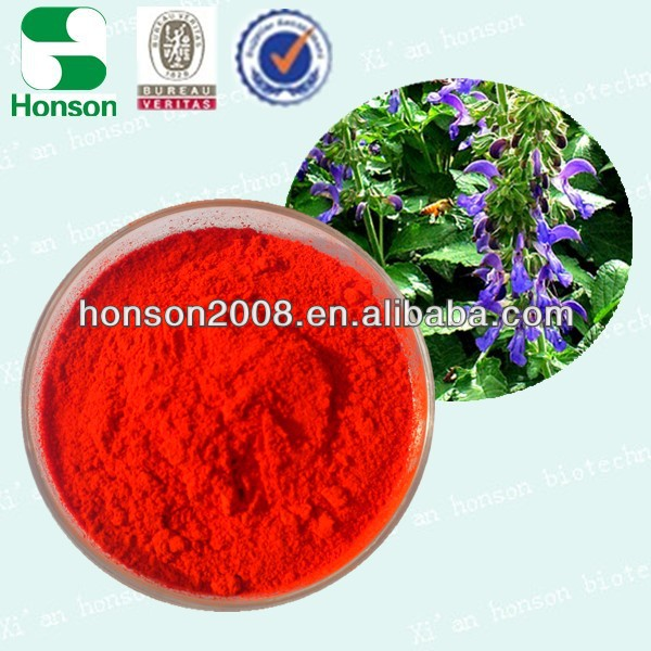 Factory Supply 98% Sodium Tanshinone IIA Sulfonate Salvia Red