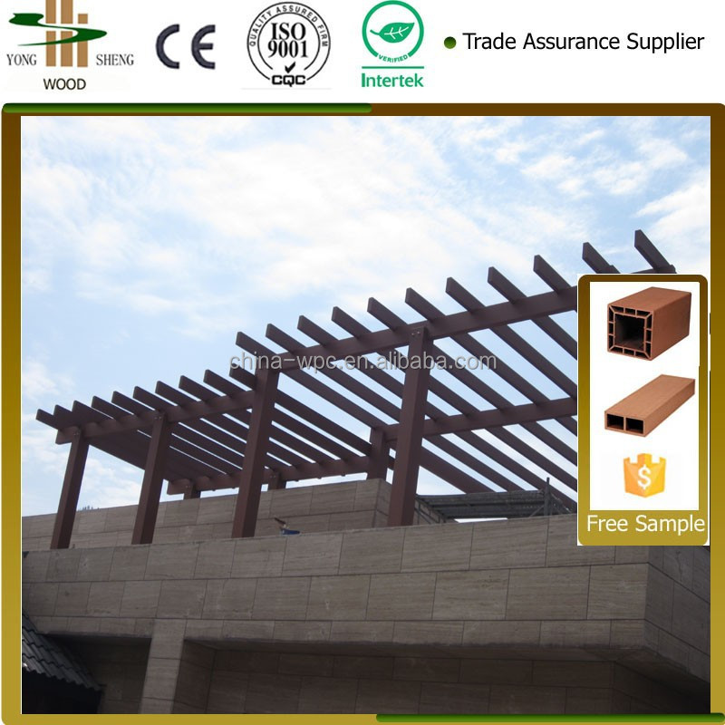 The fashion high quality wpc pergola