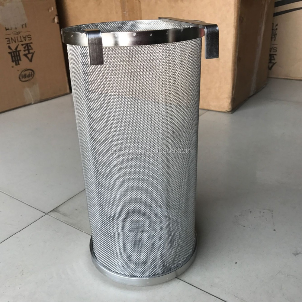 15cm x 35cm 300 400 800 Micron <strong>Stainless</strong> Steel Home Brew Beer Hop Filter Mesh Hop Spider(Customized size is available)
