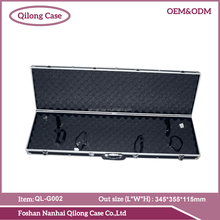 Foshan factory leather long gun case