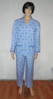 Factory Wholesale Custom Printed Pajamas, Cotton Poplin Custom Pyjamas Men