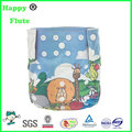 happy flute digital position print diaper reusable washable cloth pocket diaper factory sale