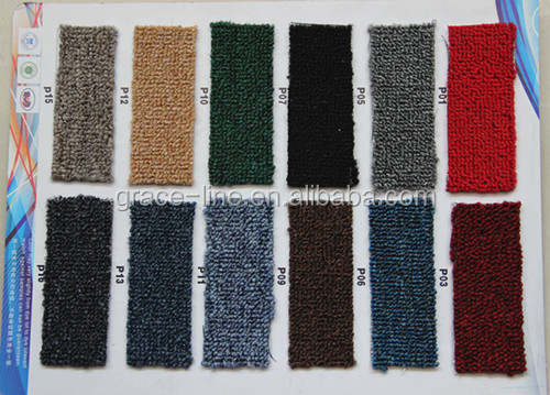 wall to wall loop pile carpet color sample