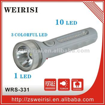 LED Rechargeable Emergency Flashlight (WRS-331)