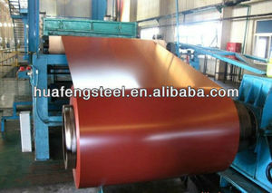 hot sell prepainted galvanized steel sheet in coil/ppgi coil exported to India