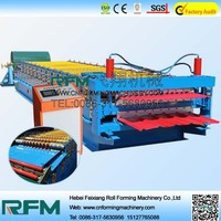 FX color steel arc corrugated roof sheet roll former