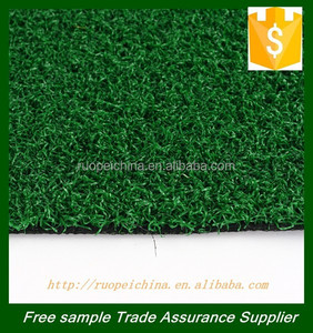 High density green color artificial grass carpet grass for mini golf filed