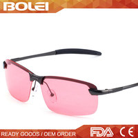 Quality Beauty polarized red lens fishing night vision sunglasses