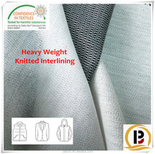 Heavy Clothes Interlining / 140GSM Knitted Fusible Interlining