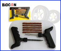 7 piece tire repair kit/pistol-handle screw probe/pistol handle