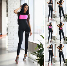 L1078A New hot sale sports gym yoga jumpsuit fitness wear gym jumpsuit