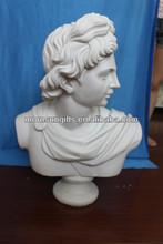 2013 New Designed Elegant Ready Shipping Resin Apollo Bust