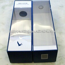 Elegant Recyclable Cardboard Wine Boxes Wholesale With FSC/SGS/ISO Certificated