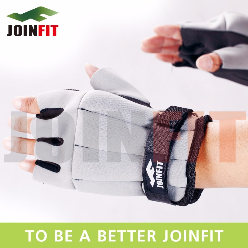 JW009 JOINFIT Half finger <strong>Weighted</strong> gloves (1.5 kg per pair)