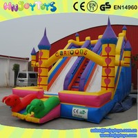 Trade Assurance Best Selling whosale popular Inflatable Children Cartoon Slide
