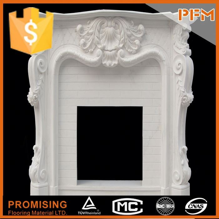 well polished natural wholesale hand carved traditional french style antique fireplace mantels