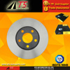 high performance brake system brake rotor 34055 09.5745.10 for AUDI A4 A6 disc brake