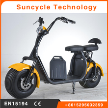 Suncycle 60V 20AH Harley electric scooter 1000w citycoco with Suspension front rear fork