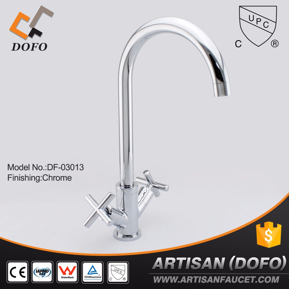 Watermark Double handle one holes kitchen sink faucets