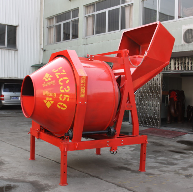 Portable Electric Concrete Mixer JE300E
