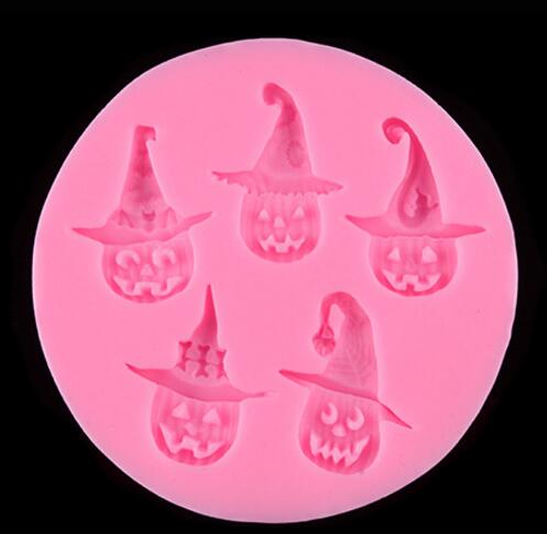 Hot sale Halloween silicone cake mold silicone ice mold