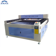 High quality CO2 CNC laser metal cutting machine 280W for metal and wood