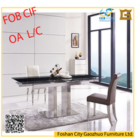Latest Elegant Dining Table furniture for kitchen and restaurant tables CL6003