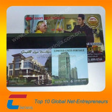 CR80 size 4428 contact chip Smart Cards with Hi-co magnetic strip used on healthcare card or loyalty card