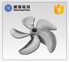 Customized New Turning point Marine propeller high strength Titanium casting propeller
