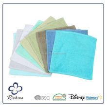 promotional cheap 100% cotton face towel size in bulk