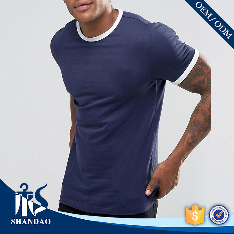 Guangzhou shandao factory o-neck short sleeve180g 100%cotton mens stylish private label clothing manufacturers