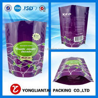 Free sample Stand up pouches with zipper for food packaging