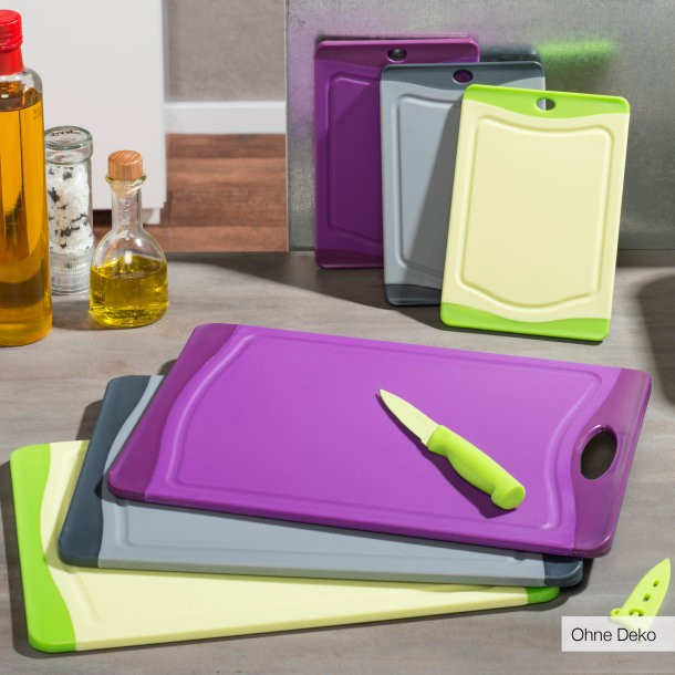 Schneidbrett,PP board,The antibacterial PP chopping board,TPR antiskid chopping board