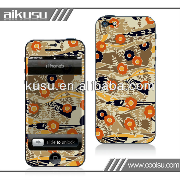 waterproof cell phone skin for iphone5 show your style~